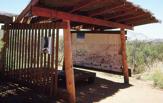 Alice Springs Desert Park, Interpretation Hut