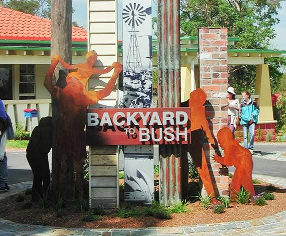Backyard to Bush, Interpretation