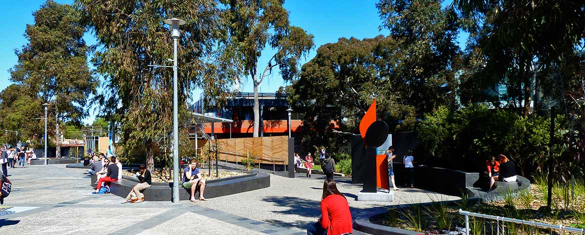 Deakin University Landscape Design