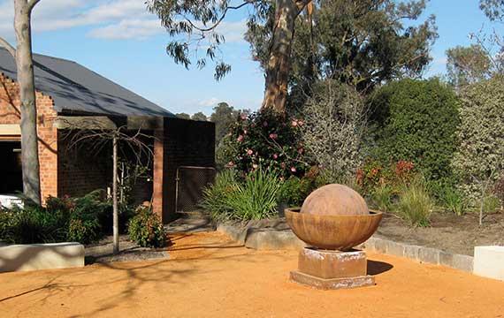 Flat Rock Garden Design