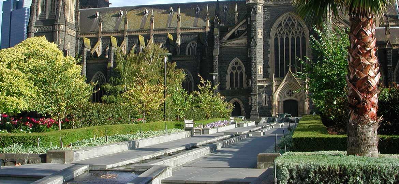 St Patricks Cathedral Walk