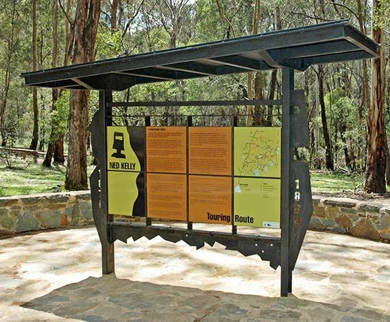 Stringybark Creek State Forest, Interpretation Display