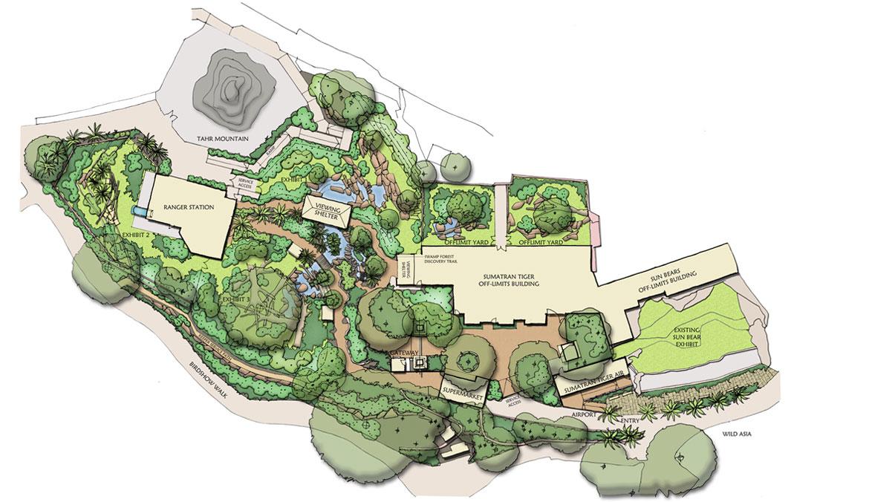 Sumatran Tiger Adventure Concept Plan