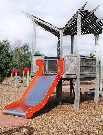 Whittlesea Public Gardens Playground Slide