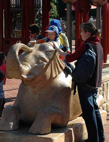 Visitors at Wild Asia Taronga Zoo