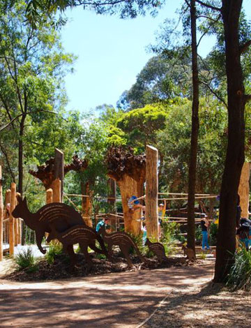 Healesville Sanctuary Nature Playground